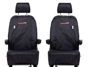 BRAND NEW GENUINE VOLKSWAGEN TRANSPORTER T5 SPORTLINE SEAT COVERS ,CAPTAIN SEATS