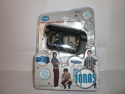 Disney Black/negro Jonas Video Camara Digital / Digital Video Camera In Spanish