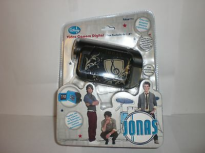 Disney Black/negro Jonas Video Camara Digital / Digital Video Camera In Spanish