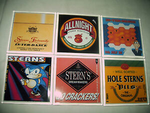 STERNS/Old Skool/RAVE/Hardcore/Interdance FLYER Coasters/BEER MATS A