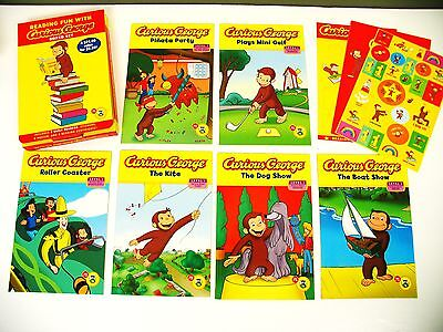 Lot 6 Curious George Level 1 early beginning readers kids books Learn to read on Rummage