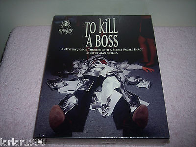 "BEPUZZLED~500 PC MYSTERY JIGSAW PUZZLE~"" TO KILL A BOSS~~SEALED & NEW"