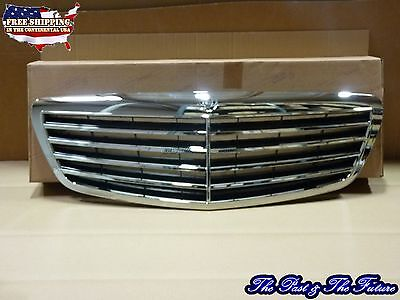 W221 Style Assembly Grille Grill   ALL Black Back EU W22102410