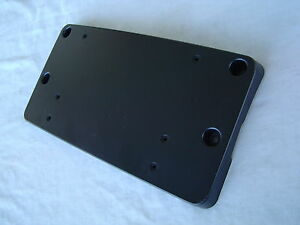 New mercedes benz 2008 11 c300 c350 license plate mount for Mercedes benz license plate holder