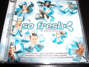 So-Fresh-Winter-2004-CD-Ft-Avril-Lavigne-Britney-Spears-Jessica-Simpson-Beyonce
