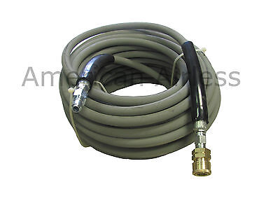 Pressure Wash Gray Non-marking Pressure Washer Hose 3/8 X 200' 4000psi