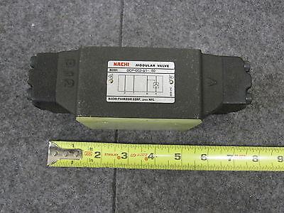 Nachi Modular Valve Ocp-g03-a1-j50