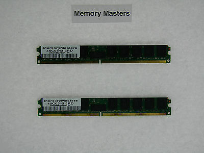 46c0513 8gb (2x4gb) Pc2-5300 Ecc Reg Ddr2 Memory Vlp Ibm Bladecenter