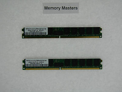 46c0513 8gb (2x4gb) Pc2-5300 Ecc Reg Ddr2 Memory Vlp Ibm Bladecenter