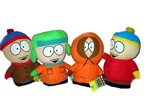 SOUTH-PARK-Eric-Cartman-Kenny-Kyle-Stan-Kenny-Plush-Doll-Figure-Set-4-pc-Toy-7