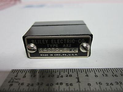 Vintage Wwii Bliley Quartz Crystal Ax2 14259.8 Kc Frequency Radio Amateur Ham