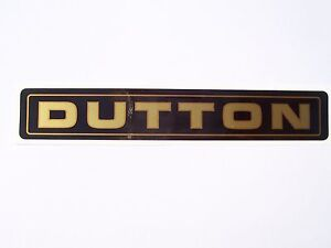 New Dutton Sierra, Melos, Legerra, Phaeton Kit Car Reproduction Vynil Name Decal