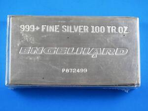Engelhard-100oz-silver-bullion-bar-999-fine