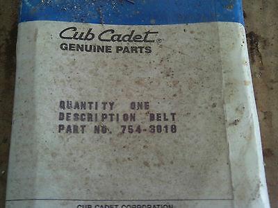 Cub Cadet Genuine Belt 754-3018 Lawn Tractor