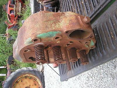 John Deere 70 Diesel Tractor Jd Engine Motor Cylinder Head Valves F1958r 1958r