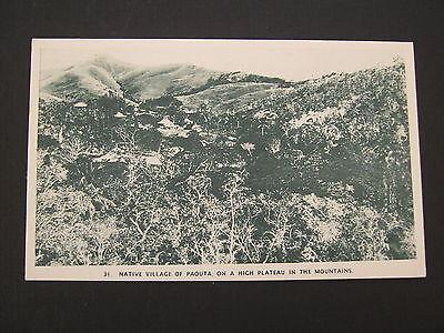 Paouta, New Caledonia, scarce postcard