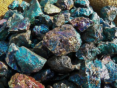 1000 Carat Lots of Peacock Ore Rough - Plus a FREE Faceted Gemstone