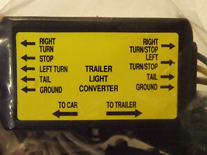 5 Pole to 4 Pole Trailer Converter Wire Connecter Kit / Harness_You Can Do It!