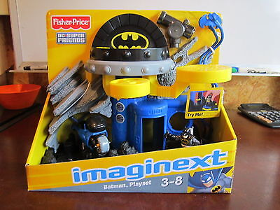 Fisher Price Imaginext Dc Super Friends Batman Playset Command Center Gotham