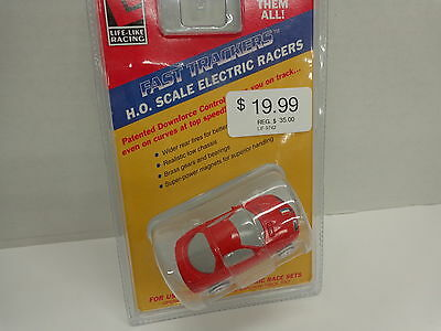 Life Like 9742 Camaro Red Race Car Ho Scale In Sealed Package