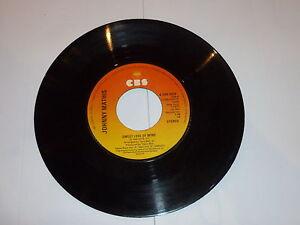 JOHNNY-MATHIS-Sweet-Love-of-mine-1977-UK-7-Vinyl-Juke-Box-Single