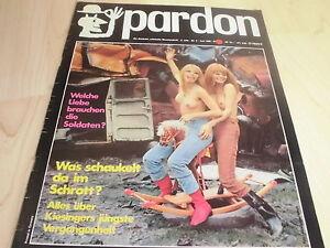 PARDON , Juni 1969 , Satire Zeitschrift , Parodie ,Karikatur, Politik ,Reklame