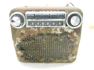 1955-54-PACKARD-BUICK-53-52-51-56-57-AM-RADIO-GOOD-UNUSUAL-GREAT-BUY