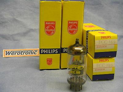 Philips RTC ECC189 Röhre NOS Tube ECC 189  by Mullard ( Ersatz E88CC ECC88 )