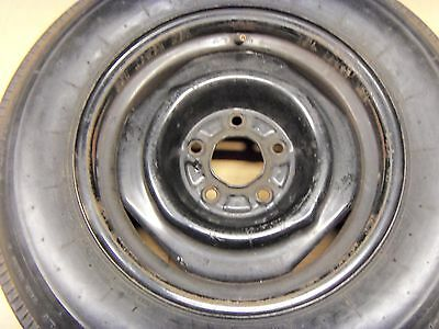 "OEM Buick GS Pontiac Oldsmobile TF 15"" Steel Wheel Spare Tire 19671968 1969 1970"