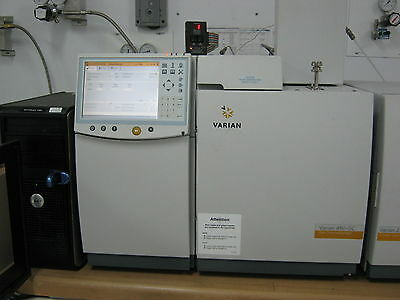 Varian Gcms 450 Gc 220 Ms Ion Trap Bruker Agilent Gcms - Mint Warranty