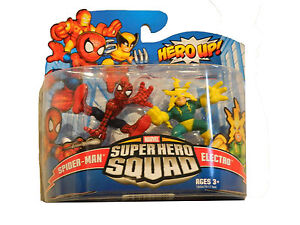 MARVEL SUPER HERO SQUAD FIGURES TWIN 2 PACK. BNIB. 14 TO CHOOSE FROM. Age 4+.