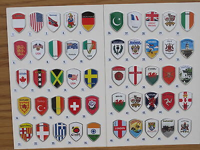 One Aluminium Walking Stick Badge Avail in over 200 different designs