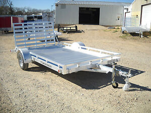 2013 FeatherLite Model 1693 12ft 12 039 ATV Utility