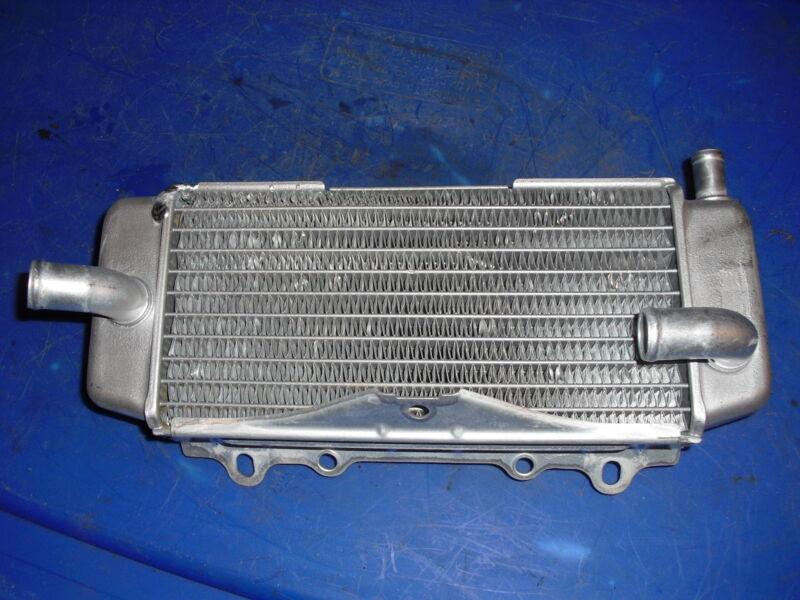 04-05 KX250F KX 250F RIGHT SIDE RADIATOR COOLANT