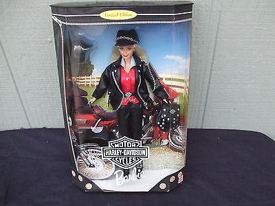 Harley-Davidson #1 1997 Barbie Doll Collector Edition NRFB MIB