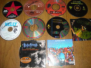 Rap-CDs-Lot-80-Puff-Daddy-E-40-Bad-Company-Busta-Rhymes-Geto-Boys-Etc