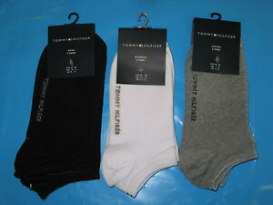 Womens-Branded-T-Hilfiger-Ankle-Socks-2Pack-sz-2-5