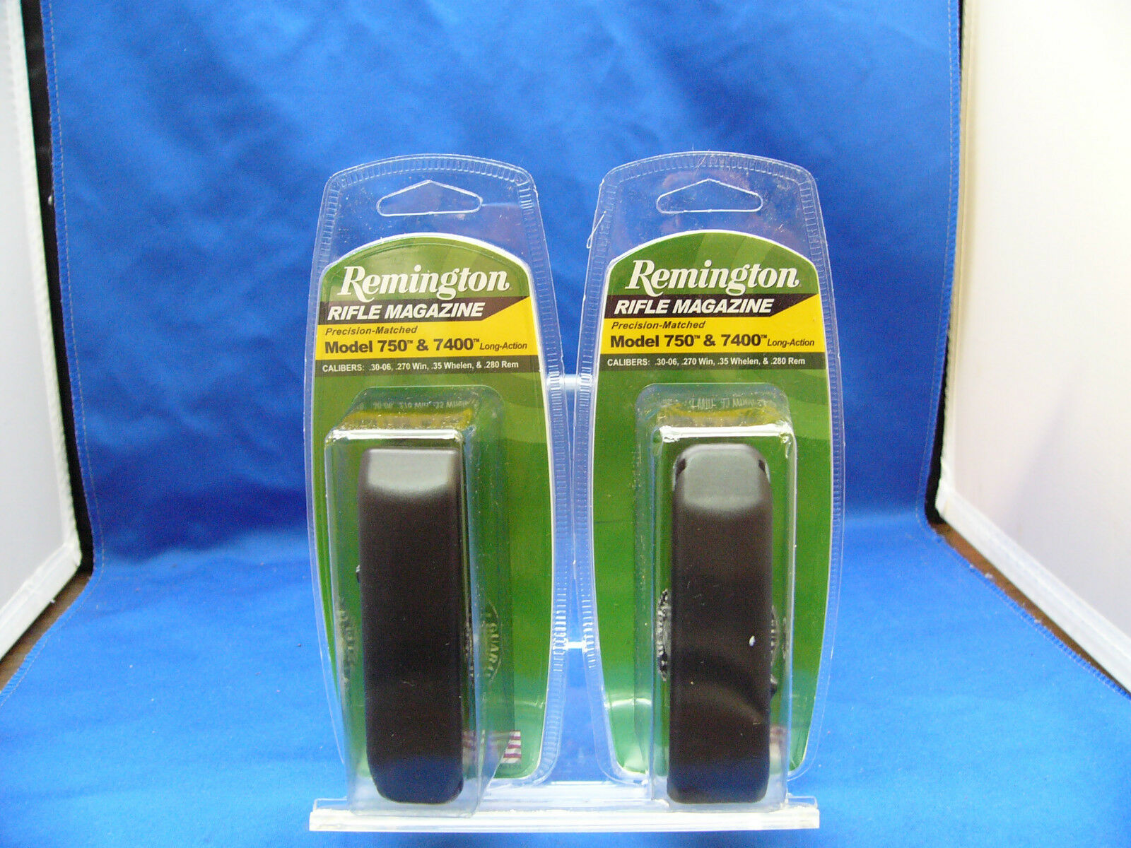 Two Remington 742 750 74 Four 7400 740 Magazine Mag 30-06 Long Action 4 Rd Clip