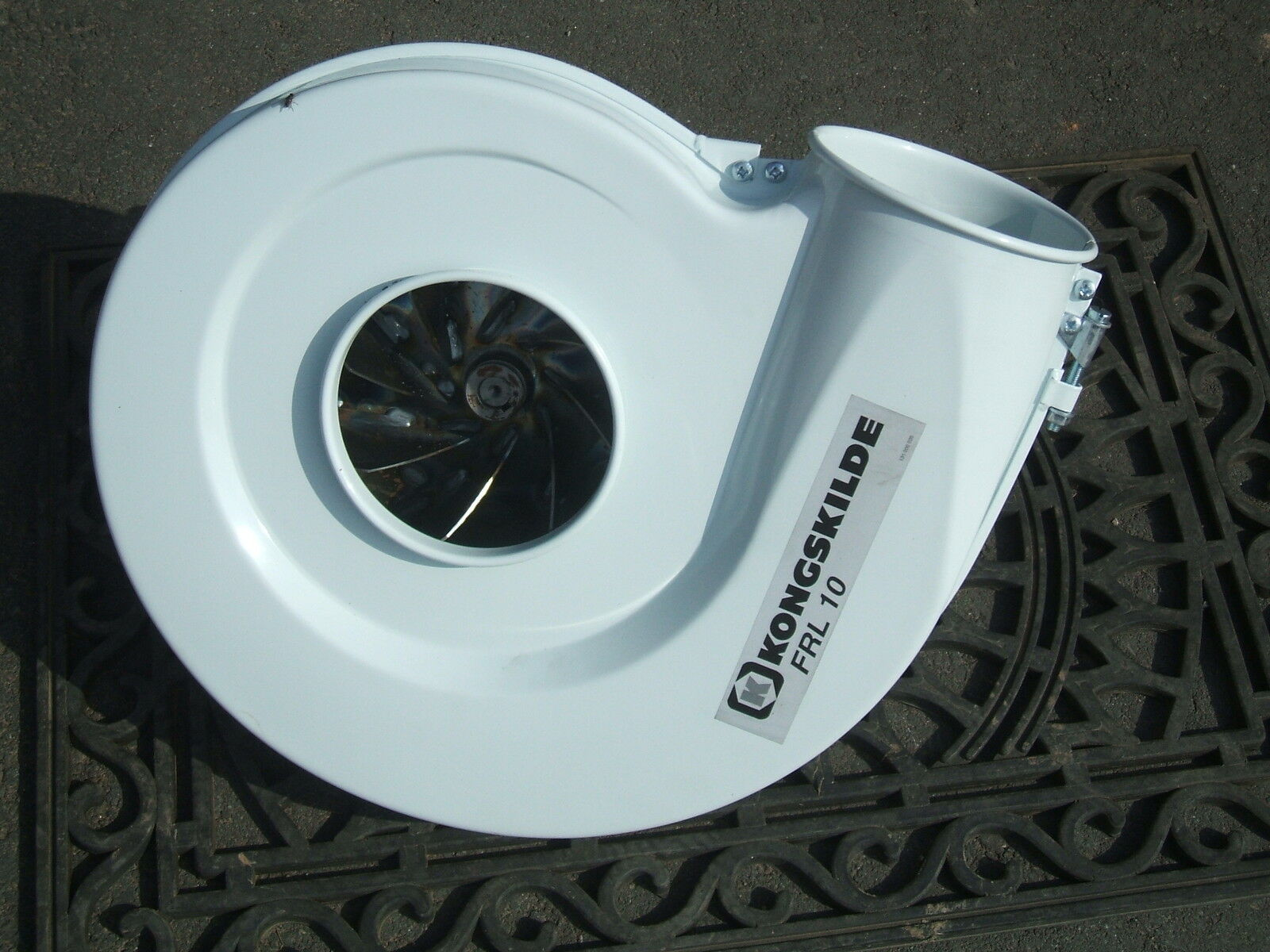 Recycling Plastic Blower : Kongskilde blower clip grain augers recycling fan tractor