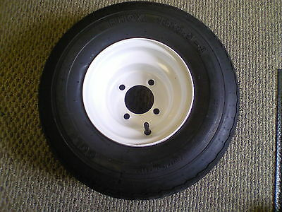 Harley Davidson Golf Cart Part Tire And Wheel Assembly 18x8.5-8