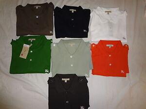 Burberry-London-mens-military-short-sleeve-Epaulettes-shoulder-pique-polo-shirt