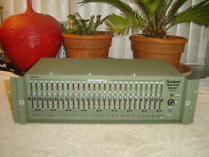 Rauland-6226A-Spectrum-Master-26-Band-Graphic-Equalizer-Eq-Vintage-Rack
