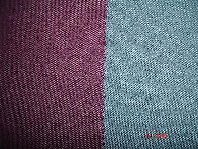 0,5 Laufmeter  Bündchenstoff Baumwolle Lycra rotbraun 4,07€/m²
