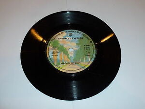 LIVERPOOL-EXPRESS-You-Are-My-Love-1976-UK-solid-centre-7-vinyl-single