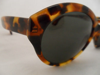 CHRISTIAN ROTH SUNGLASSES SERIES 6566 TORTOISE PLASTIC VINTAGE LOOK GLAMOUR on Rummage