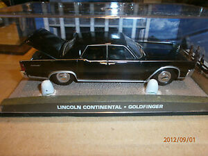 james bond car collection lincoln continental goldfinger ebay. Black Bedroom Furniture Sets. Home Design Ideas
