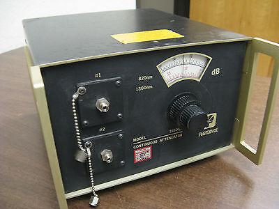 Photodyne 1950xr-100 Continuos Attenuator