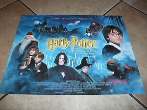 Harry-Potter-ORIGINAL-Collectors-Film-Cinema-Mini-QuadPoster-VERY-RARE