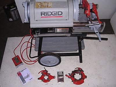 Ridgid 1224 Pipe Threader 12-4 Vg-excellent 3 Die Heads 711 714 To 6 W 161