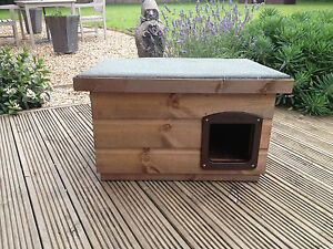 ... Quality medium Wooden Dog/Cat Kennel/ Shelter ~ Dog House box outdoor